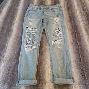 American Eagle  Tom girl Jeans size 2